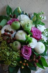 青リンゴ・ブラックベリー(2012-07-28)